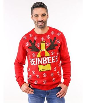 Bild von Adults Reinbeer Christmas Jumper