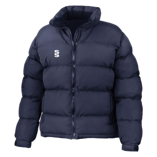 Picture of HOLKHAM DOWN FEEL JACKET - NAVY