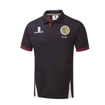Picture of Olton & West Warwickshire Hockey Club Blade Polo Navy/Maroon/White