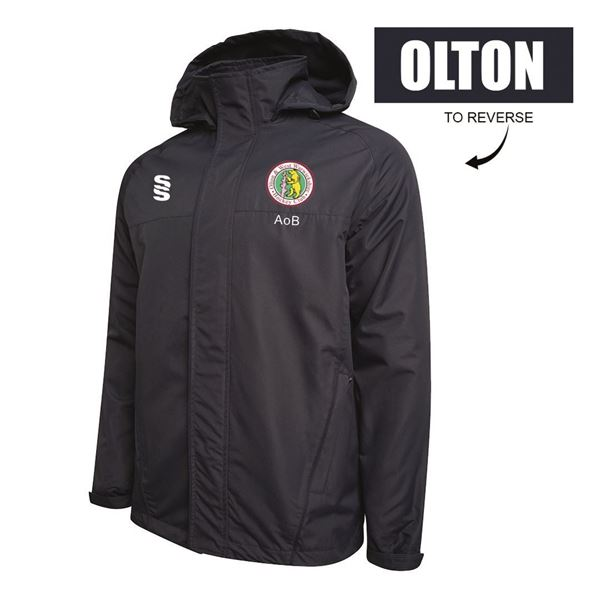 Picture of Olton & West Warwickshire Hockey Club Fleece Line Jacket - Navy