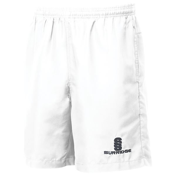 Afbeelding van Pocketed Training Ripstop Shorts - White