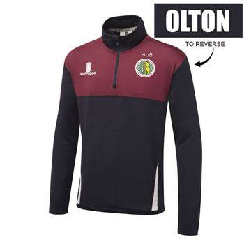 Imagen de Olton & West Warwickshire Hockey Club Blade Performance Top Navy/Maroon/White