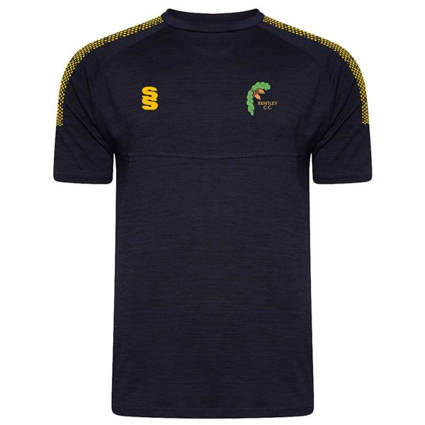 Picture of Bentley Cricket Club Dual Training Shirt Navy