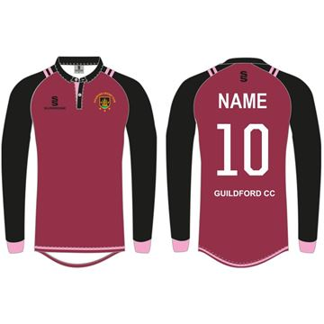 Image de Guildford CC Long Sleeved Coloured Playing Shirt