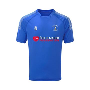 Picture of Great Harwood CC Dual Games T-shirt - Royal/Silver