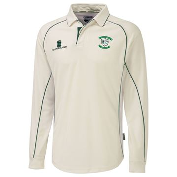 Picture of Whiteley Village Cricket Club Junior Premier Long Sleeve Playing Shirt