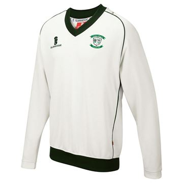 Picture of Whiteley Village Cricket Club Junior Curve Long Sleeve Sweater