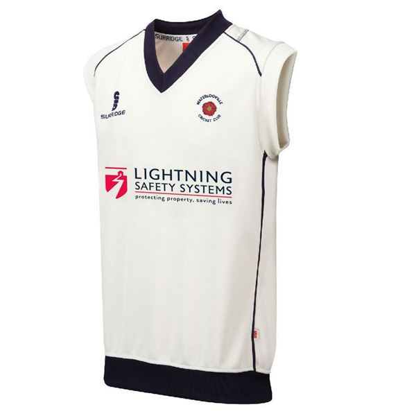 Picture of Waterlooville CC Curve Sleeveless Sweater
